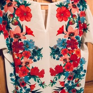 Forever 21 Tops - Floral Blouse